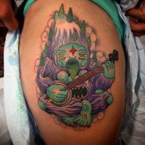 Lurk - Tattoo 004