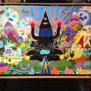 Lurk - WIP Painting 002