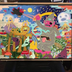Lurk - WIP Painting 003