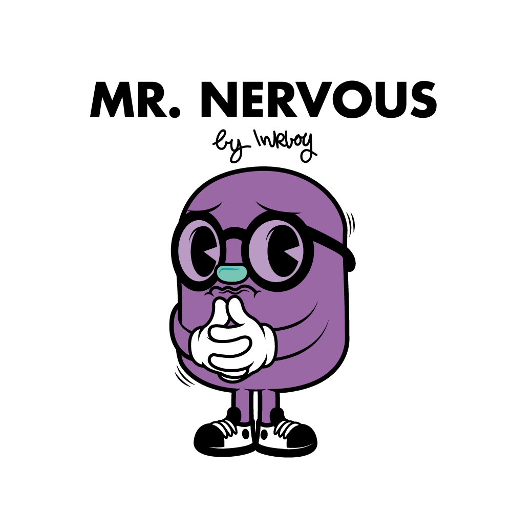 Image result for mr nervous